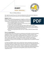 2015 BCANY Summer Hoop Festival Waivers & Medical Release