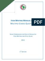 MCQ Manual - SCFHS