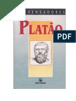 Platão Coleção Os Pensadores 1991