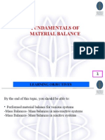 Intro to Mass Balance