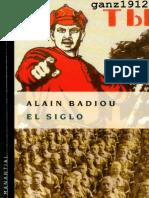 Badiou Alain - El Siglo