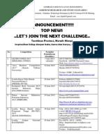 Kompetisi LKTI bulan Juni 2015