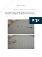 Kinds of Stitches