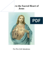 Devotions to the Sacred Heart for Pro-Life Intentions