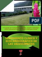 Evaluación Clínica y Ecocardiografica de Las Valvulopatías