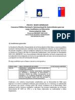 Convocatoria Concurso FH1501 Ense-Anza Aprendizaje Lectoescritura