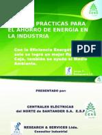 Mejores Practicas Para El Ahorro de Energia en La Industria