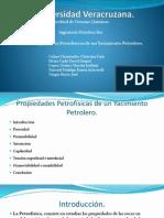 Propiedades Petrofísicas de Un Yacimiento Petrolero