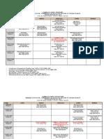 Horario de Clases Primer Semestre 1 2015 Ultima Versión
