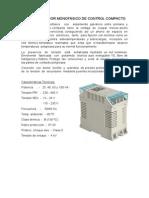 Transformador Monofásico de Control Compacto