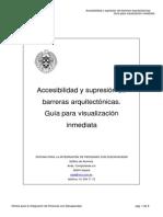 Accesibilidad y supresión de barreras arquitectónicas