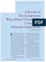 A Review of Two Component Water Borne Polyurethane