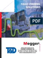 Megger Cable Fault Finding Solutions