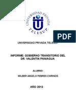 INFORME DE GOBIERNO TRANSITORIO DE VALENTIN PANIAGUA.docx