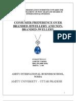 Dissertation Ankur Synopsis