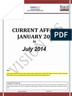 -Jan2014 to July 2014 _Current Affairs_Vision IAS