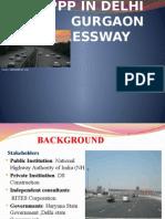 Ppp in Delhi Gurgaon Expressway