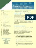 Memoria Palabras Azules 2014/15