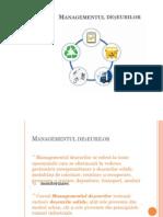 20. Managementul deseurilor