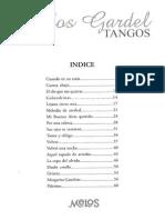 Carlos Gardel - 18 Tangos - Voz y Piano, Cifrado Guitarra