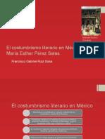 El Costumbrismo Literario en México
