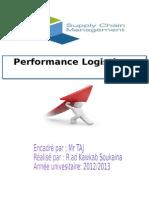 Performance Logistique Riad Kawkab Soukaina