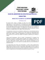 Manejo Del Voltimetro y Amperimetro2