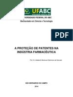 Proteção de Patentes Na Indústria Farmacêutica