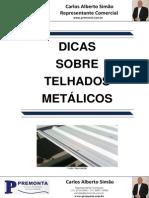 Dicas sobre Telhados Metálicos