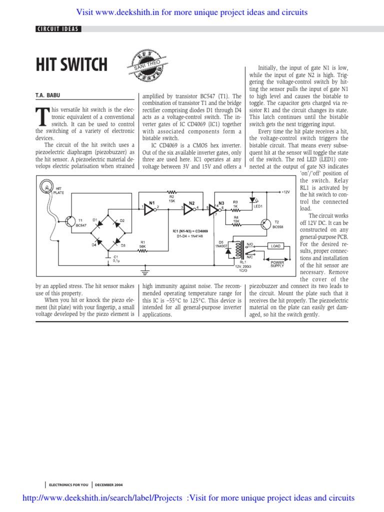 Amazing Electronics For You Circuit Ideas Motif - Electrical Circuit ...
