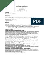 stevens resume