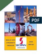 Manual Costes Maquiaria 2005