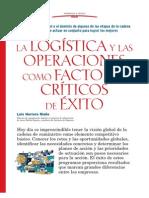 La Logística y Las Operaciones Como Factor de Exito
