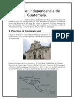 Informe de Guatemala