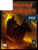 D20 - D&D - The Unholy Warrior's Handbook