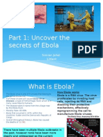 Part 1- Uncovering the Secrets of Ebola
