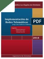 Implementacion de Una Red Telematica