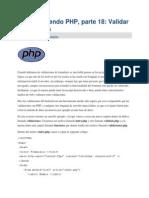 Aprendiendo PHP