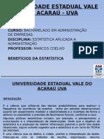Apresentação - Benefícios Da Estatística Na Administração