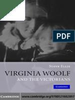 Steve Ellis Virginia Woolf and the Victorians