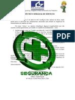 Relatório Técnico Semanal de Serviços 22.04.2015