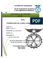 Laboratorio de Petroleo crudo