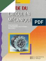 Guide Du Calcul en Mécanique 01