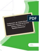 Fundamentos Del Modelo de Educacin Flexible