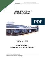 Resumen Plan Estrategico Institucional 2008-2012