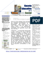 N° 1 Gaceta Educativa
