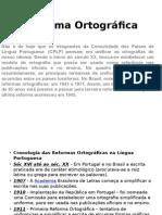 Reforma OrtográficaReforma Ortográfica