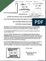 Curry v. American Home Prod, et al - Document No. 7