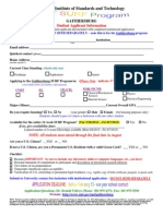 2015 SURF Application Form