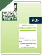 Manual Para El Buen Funcionamiento de Un Laboratorio Farmaceutico